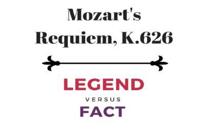 Mozart's Requiem Infographic: Legends vs Facts