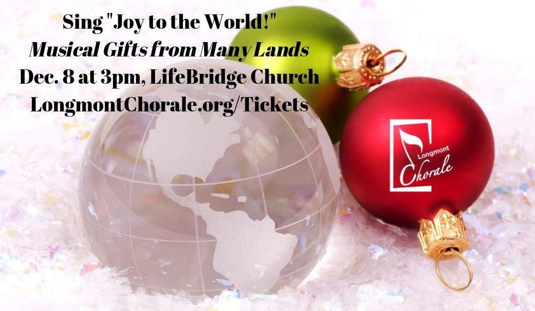 "Sing ""Joy to the World!"" – Dec. 8"