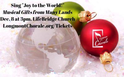 "Sing ""Joy to the World!"" (Past) – Dec. 8"