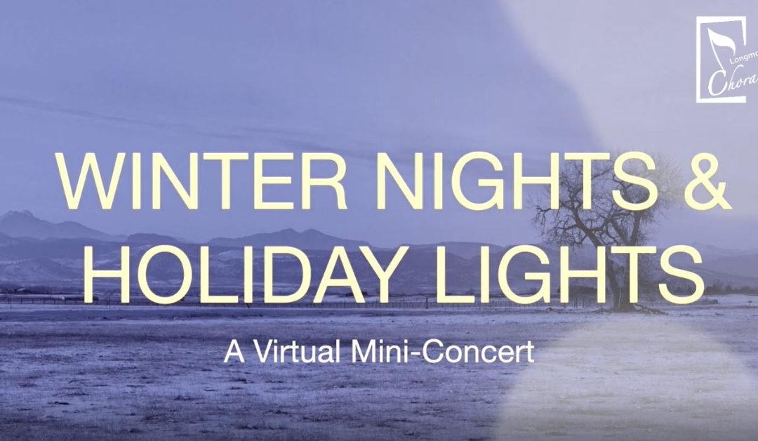 Winter Nights & Holiday Lights – Dec 21